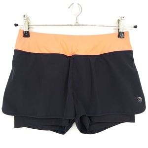MPG Athletic Lined Running Shorts